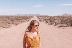 Jolien in de woestijn